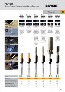 Seite 43 - PowerJet Brenneruebersicht