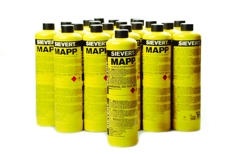 187 New Powercase And Mapp Gas